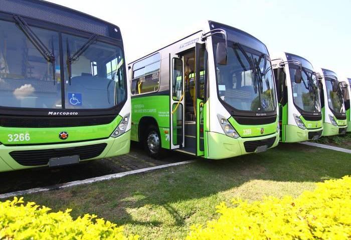Novos ônibus