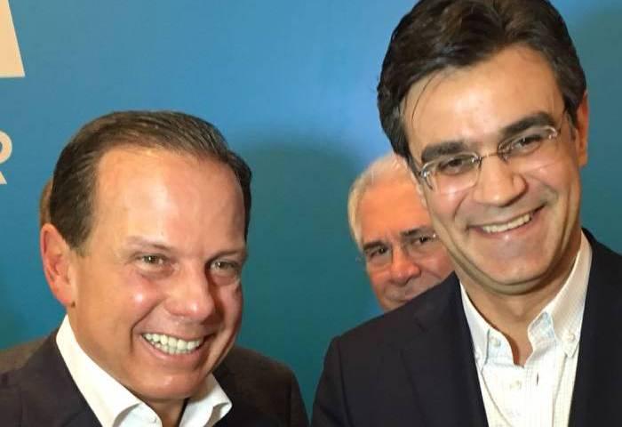 João Dória e Rodrigo Garcia