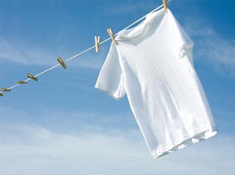 Tips para blanquear la ropa