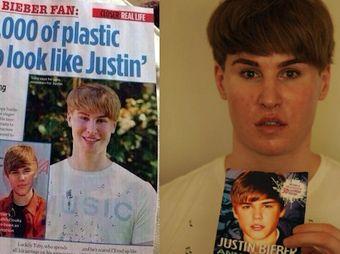 Fan paga más de 100 mil pesos para parecerse a Justin Bieber