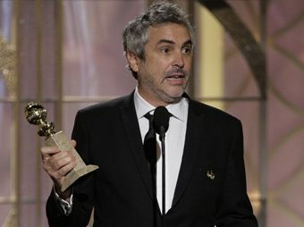 Alfonso Cuarón gana Globo de Oro a Mejor Director