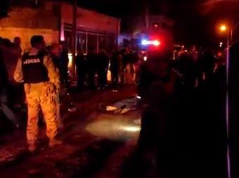 Irrumpe hombre armado en fiesta y mata a dos menores en Obregón