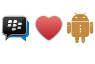 BBM lanza versión para Android Gingerbread