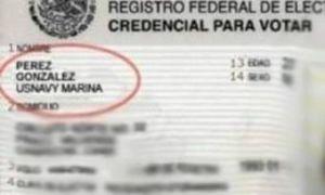 ¿Qué nombres están prohibidos en Sonora?