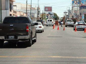 Cerrarán dos carriles de circulación en la calle Reforma