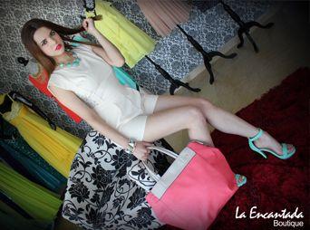 Pavlova Castelo, modelo La Encantada Boutique.