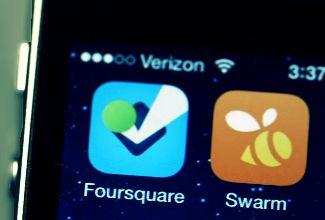"""Foursquare revela más datos del nuevo """"Swarm"""""""