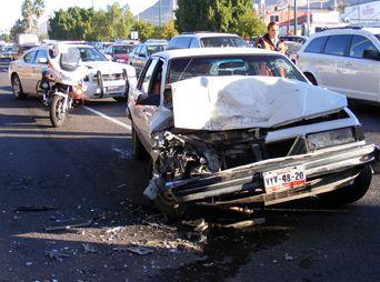 Altas temperaturas incrementan posibilidad de accidentes viales