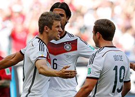 Con todo y Cristiano, Alemania 'arrasó' 4-0 a Portugal