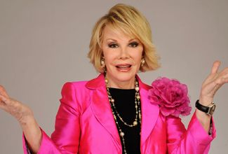 Falleció la conductora de TV Joan Rivers