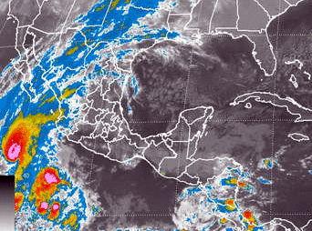 Alerta azul en Sonora por huracán Vance