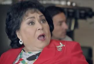 El comercial de Carmen Salinas llamó la atención en redes, en el anuncio laactriz mexicana es la encargada de llamar a los 'guardias'.
