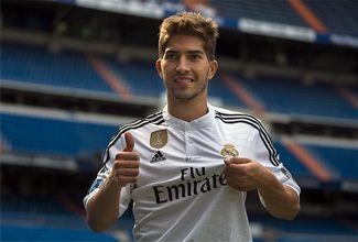 Lucas Silva es presentado en el Real Madrid