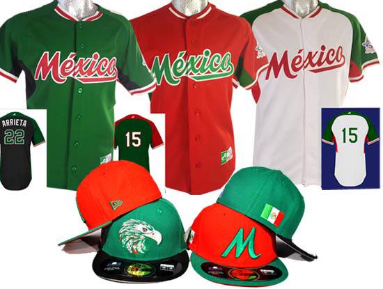 Uniforme que usará México en la Serie del Caribe 2015