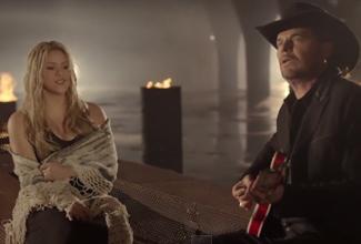 La canción de 'Mi Verdad' es el nuevo video de Maná y Skakira .
