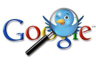 Google mostrará tuits en su buscador