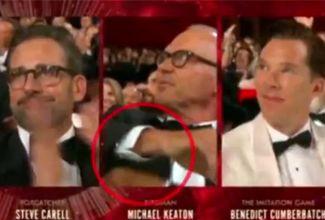 Michael Keaton oculta su discurso tras perder en Los Oscars