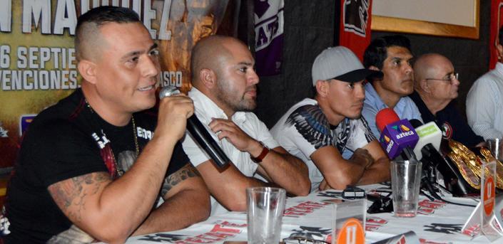 Se hizo oficial: Gallo Estrada vs Tyson Márquez en septiembre