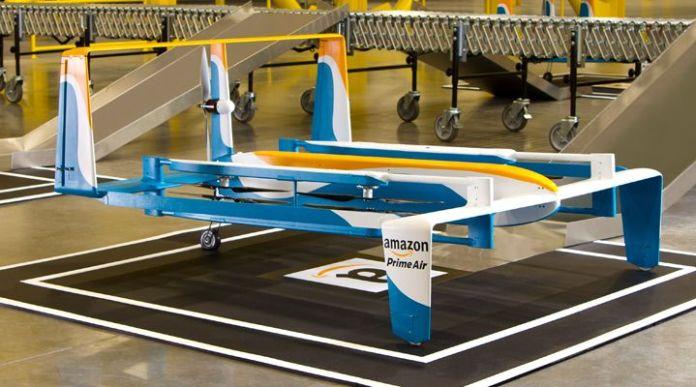 Así serán los repartos de Amazon con drones