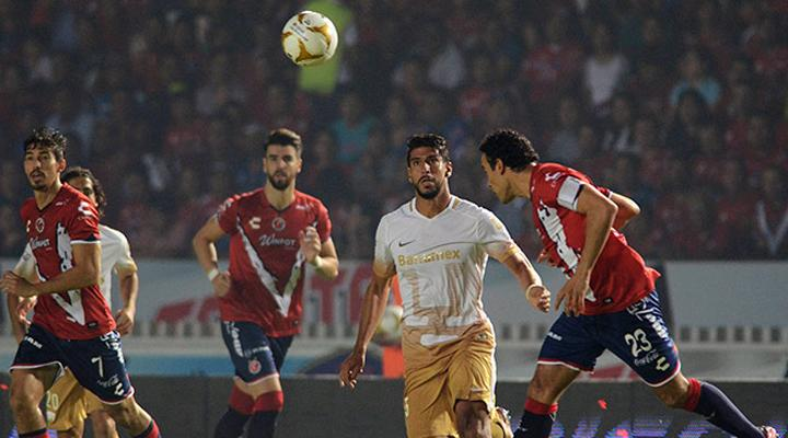 Resumen: Gol de Pumas vs Veracruz