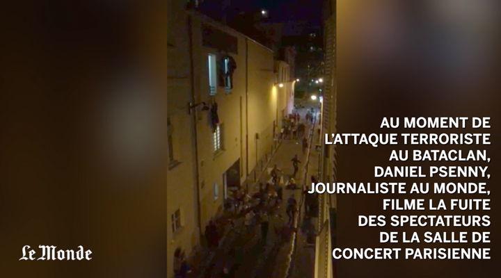 Vídeo: rehenes logran huir del Bataclán