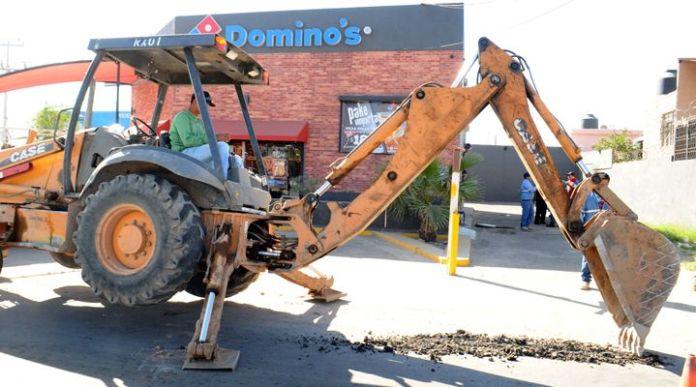 Cortan el agua a Dominos Pizza en Hermosillo