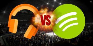 ¿Cuál es mejor: Spotify o Google Play?