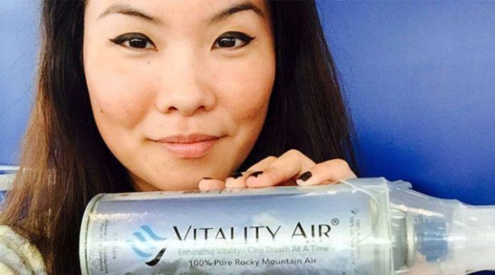 En China ya venden oxígeno embotellado