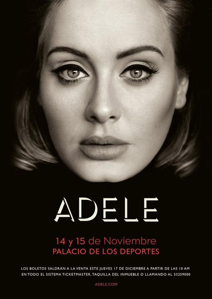 Foto Adele Concierto de México