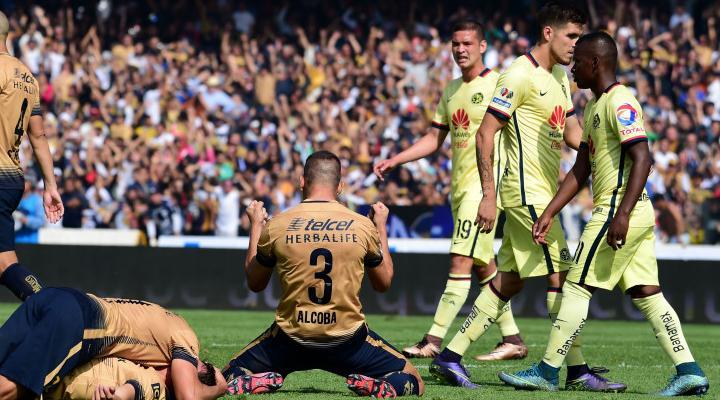Resumen: Goles Pumas vs América semifinal partido de vuelta