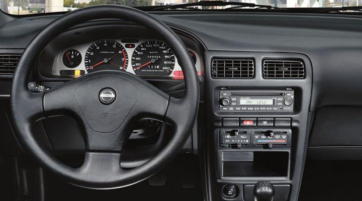 Interior de Nissan Tsuru