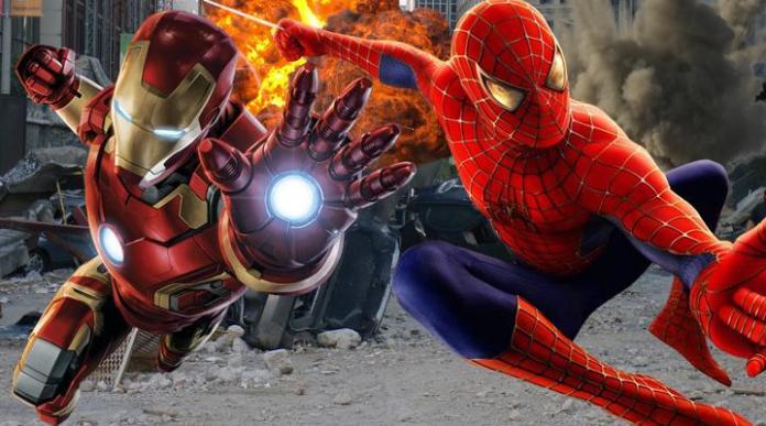 Tony Stark en la nueva película de Spiderman