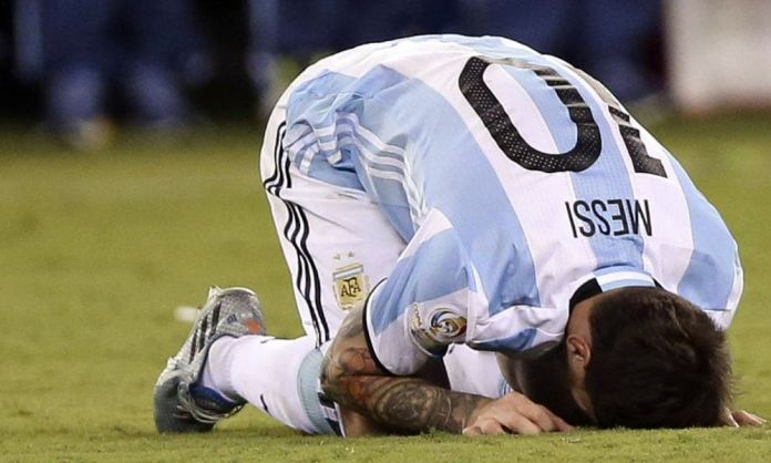 Messi se retira de la Selección de Argentina