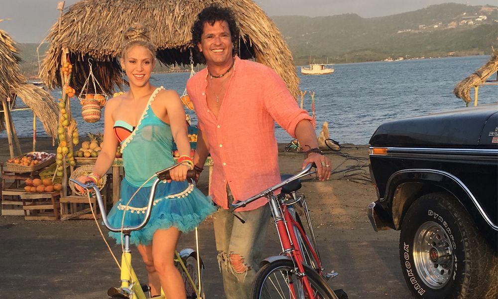Checa el nuevo vídeo de Shakira y Carlos Vives: La Bicicleta