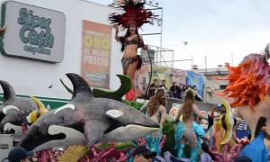 Cartelera de artistas y grupos del Carnaval de Guaymas 2017