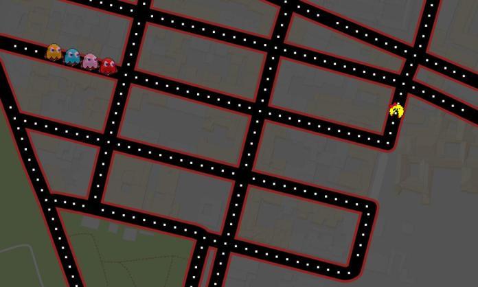 Jugar Pacman en Google
