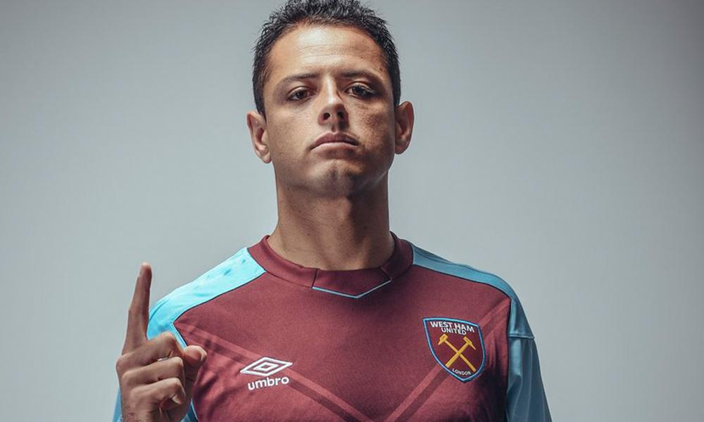 Checa el gol de Chicharito con el West Ham... entrenando
