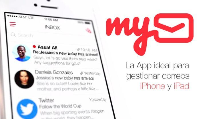 MyMail, app para gestionar tus correos