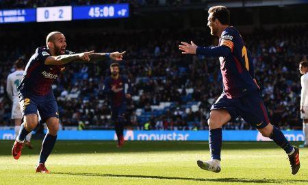 Real Madrid vs Barcelona repetición goles