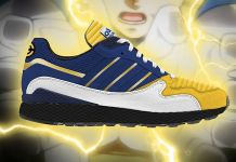 tenis de Dragon Ball Z