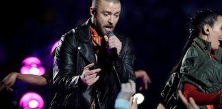 show de Justin Timberlake en el Super Bowl