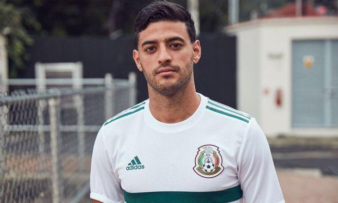 segundo uniforme de México para Rusia 2018