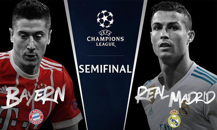 Real Madrid vs Bayern Munich en Vivo