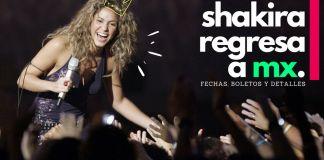 concierto de Shakira en México