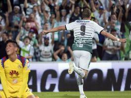 Goles de América vs Santos