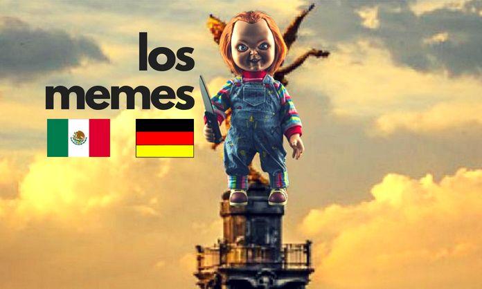 memes del México vs Alemania