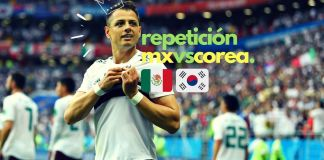 Repetición partido completo México vs Corea del Sur