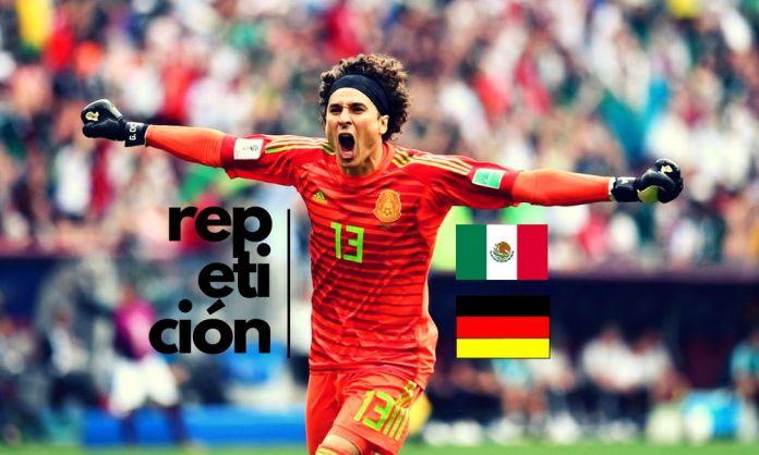 repetición del México vs Alemania