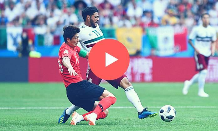 Ver Repeticion México vs Corea del Sur Partido Completo