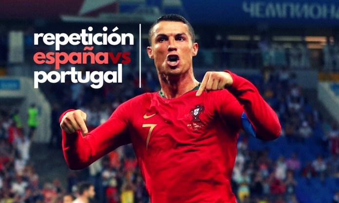 repetición del Portugal vs España